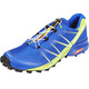 Salomon M's Speedcross Pro Shoes surf the web/lime green/black